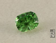 Tsavorite Rectangular Cushion