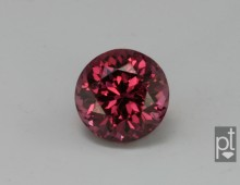 Reddish-Purple Spinel Round