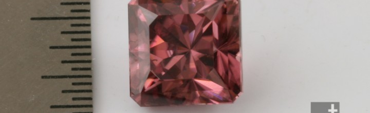 Heating Red Zircon