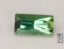 Green Tourmaline Rectangle