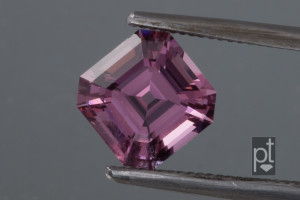Square step cut spinel