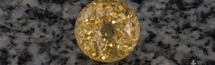 Recut Project: Untreated Yellow Sapphire Round