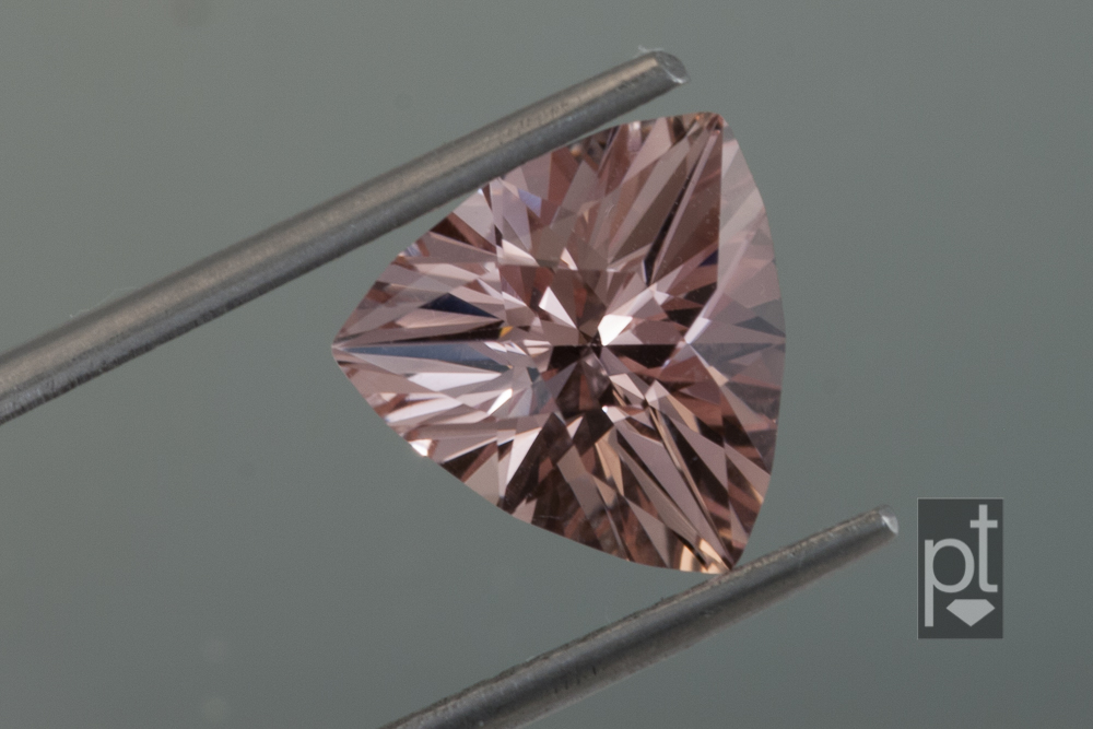 Morganite Trilliant